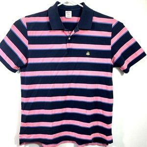 Brooks Brothers Performance Polo Shirt Stripe XL